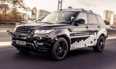 Primi collaudi su strada per la Range Rover Sport