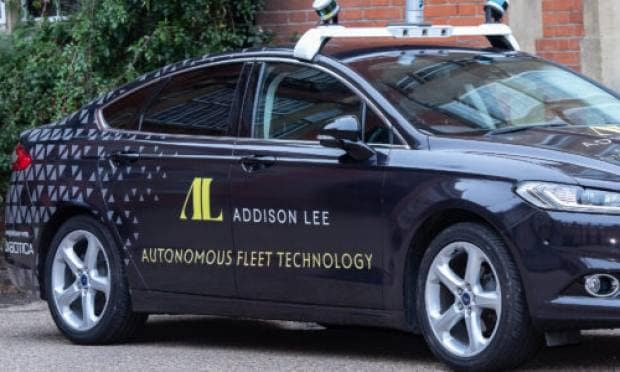 Nel 2021, pronti per i taxi a guida autonoma a Londra