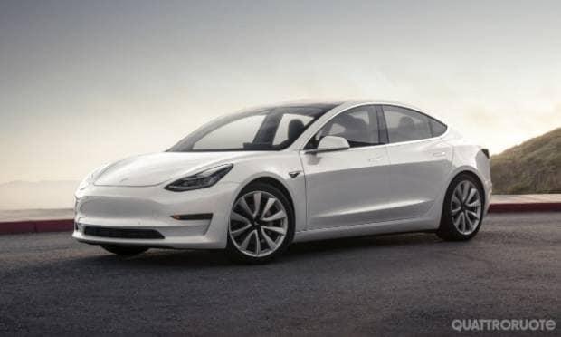 Tesla Model 3 In Europa l'Autopilot arriva con aggiornamento over the air