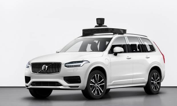 Una XC90 a guida autonoma per Uber