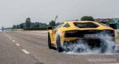 Lamborghini Aventador S Il giro di pista a Vairano - VIDEO