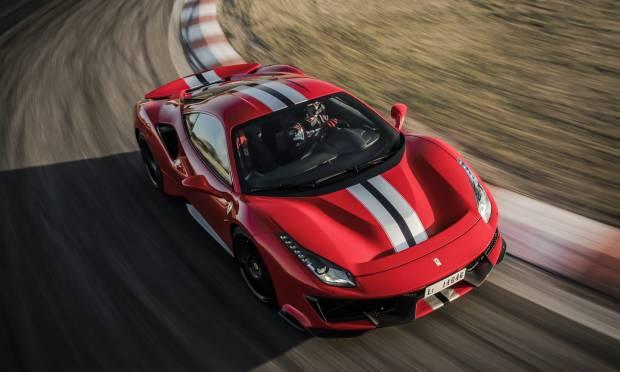 Ferrari Il giro a Vairano della 488 Pista - VIDEO