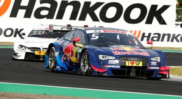 DTM L'Audi domina a Budapest