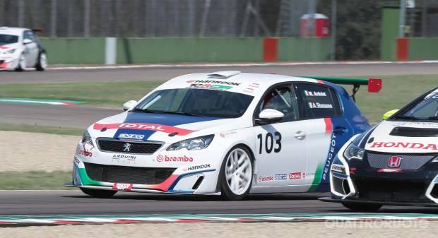 Pronti in pista a Imola con la Peugeot 308 Racing Cup