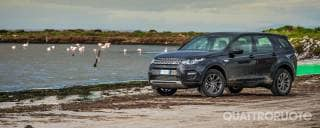Land Rover In Sardegna con la Discovery Sport