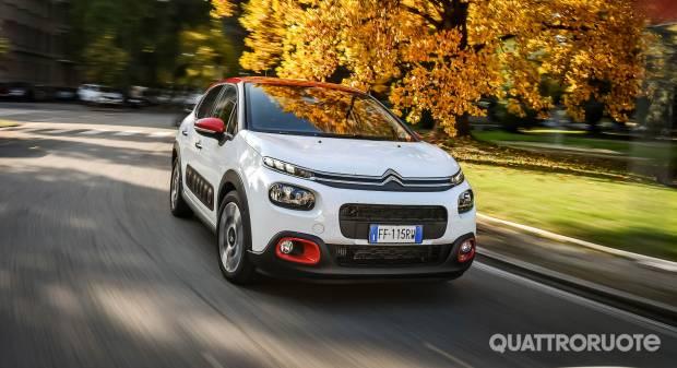 Citroën C3 La prova delle 1.2 PureTech e 1.6 BlueHDi S&S Shine
