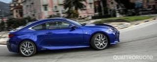 Lexus RC La prova della Hybrid F Sport