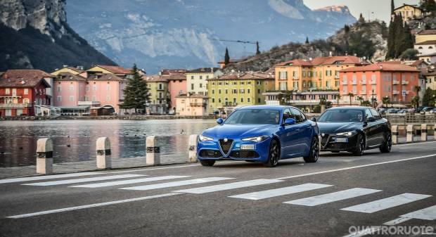 Alfa Romeo Giulia Veloce 2.0 T 280 CV vs 2.2 TD 210 CV