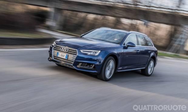 Audi A4 La prova dell'Avant g-tron