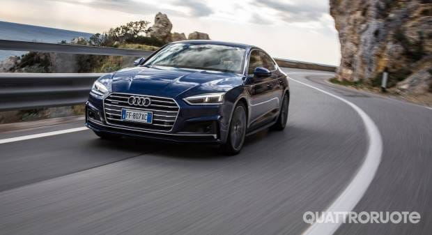 Audi A5 Sportback La prova della 2.0 TDI quattro S Tronic Sport - VIDEO