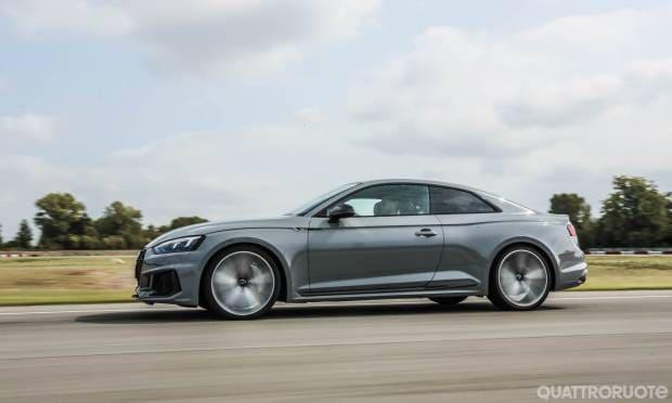 La prova dell'Audi RS5