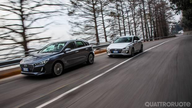 Hyundai i30 La prova della 1.0 T-Gdi e della 1.6 Crdi Dct