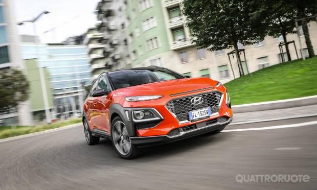 La prova della Hyundai Kona 1.0 T-GDI Style