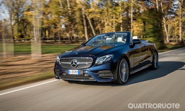 Sul numero di dicembre La prova della Mercedes Classe E Cabrio - VIDEO