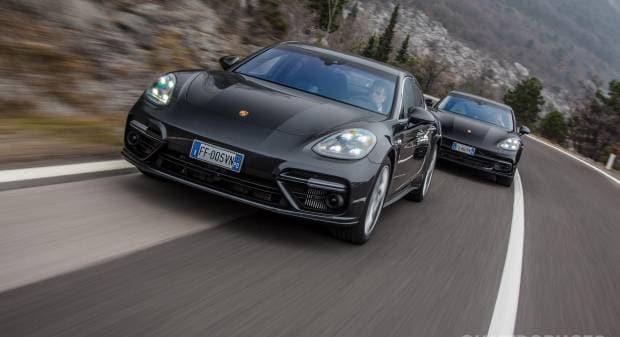 Porsche Panamera La prova della Turbo e della 4S Diesel