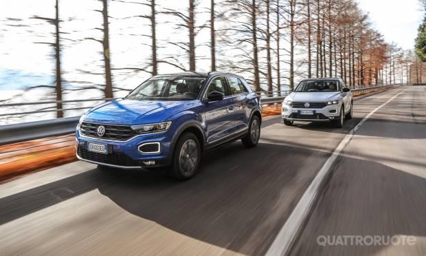 Sul numero di gennaio In prova le Volkswagen T-Roc benzina e diesel
