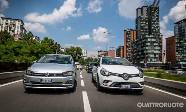 Sul numero di luglio Volkswagen Polo vs Renault Clio