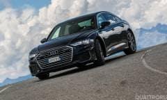 La prova della Audi A6 50 TDI quattro Business Sport