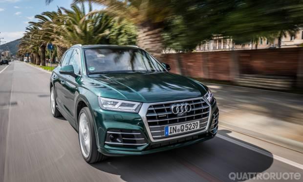 La prova dell'Audi Q5 3.0 TDI quattro tiptronic S line Plus