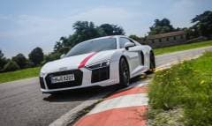 La prova dell'Audi R8 RWS