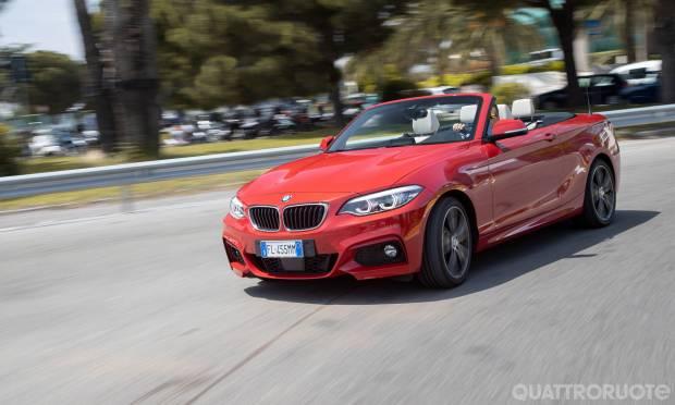 Sul Dossier Sportive & Cabrio  La prova della BMW Serie 2 Cabrio 225D Msport