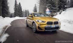 La prova della BMW X2 XDrive25d MSport-X
