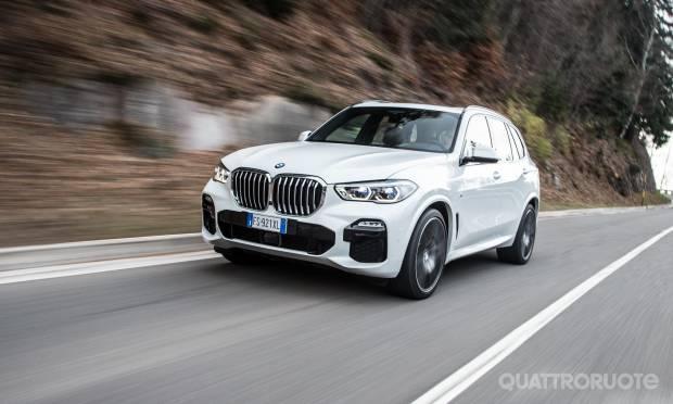 Sul numero di gennaio La prova della BMW X5 xDrive30d Msport - VIDEO