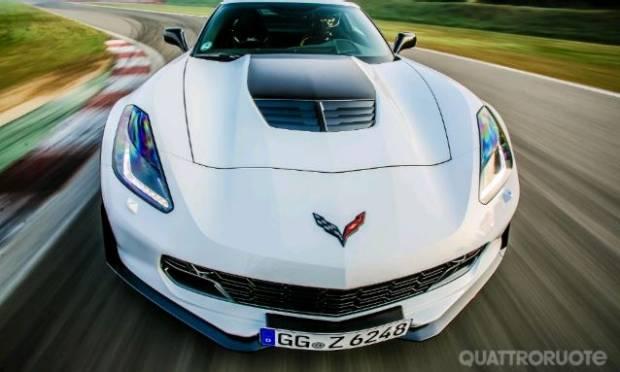 Chevrolet  La prova della Corvette Z06