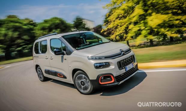 Sul numero di settembre La prova della Citroën Berlingo