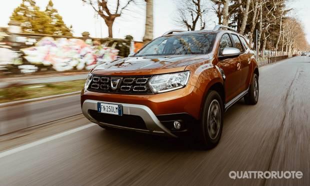 La prova della Dacia Duster