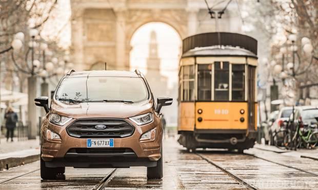 La prova della Ford EcoSport 1.5 TDCI ST-Line