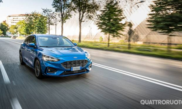 La prova della Ford Focus 1.5 EcoBlue ST-Line - VIDEO