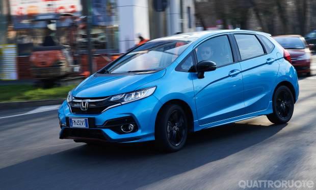 La prova della Honda Jazz 1.5 i-Vtec Cvt Dynamic