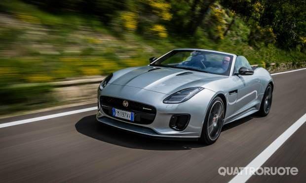 Sul dossier Sportive & Cabrio La prova della Jaguar F-Type 2.0 Convertibile R-Dynamic