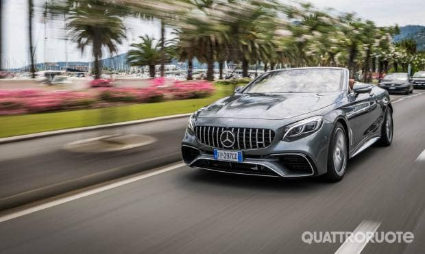Mercedes-AMG La prova della S 63 Cabrio