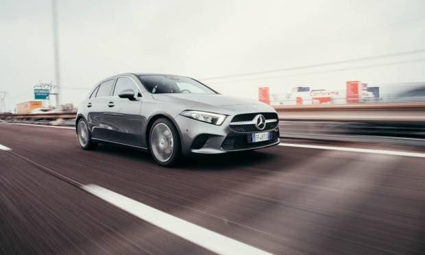 Mercedes-Benz Classe A La prova della 180 d Automatic Sport