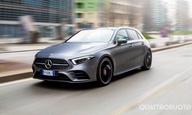 Mercedes-Benz Classe A La prova della 200 Automatic Premium
