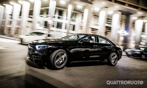 Mercedes-Benz La prova della CLS 350 d 4Matic