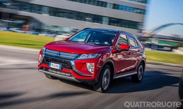 Mitsubishi Eclipse Cross La prova della 1.5 T 4WD Diamond