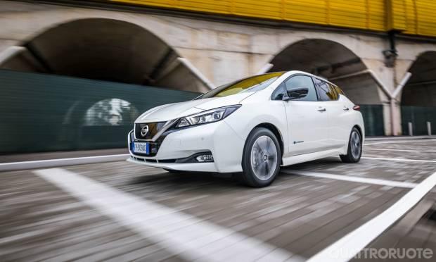 Su Quattroruote di aprile La prova della Nissan Leaf Tekna 40 kWh - VIDEO