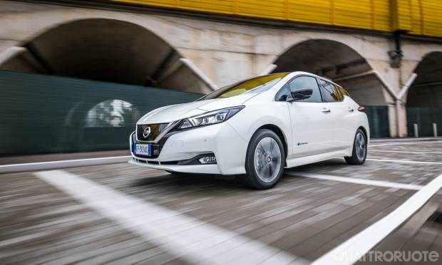 Nissan Leaf La prova della Tekna 40 kWh