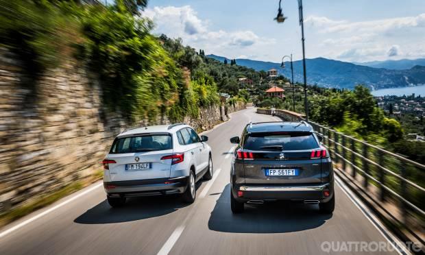 A confronto Peugeot 3008 vs Skoda Karoq
