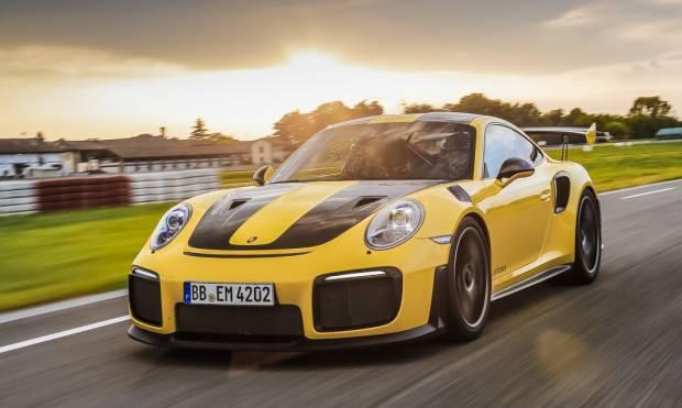 La prova della Porsche 911 GT2 RS
