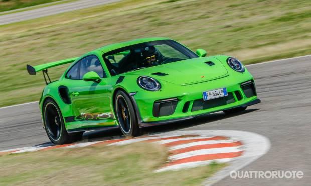 Porsche 911 La prova della GT3 RS