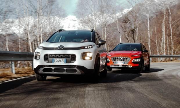 Citroën vs Hyundai La C3 Aircross sfida la Kona