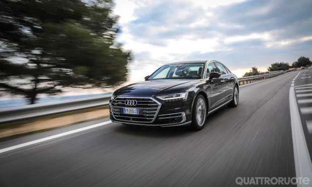 La prova dell'Audi A8 50 TDI QUATTRO TIPTRONIC