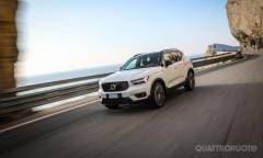 La prova su strada della Volvo XC40