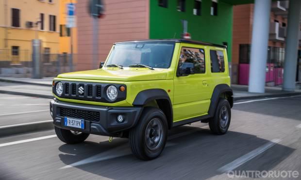La prova della Suzuki Jimny 1.5
