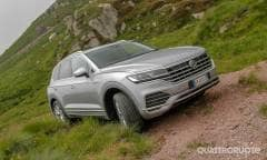 La prova della Volkswagen Touareg