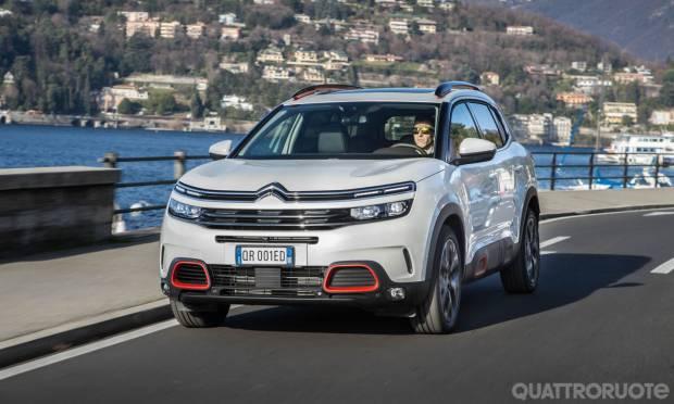 Sul numero di febbraio La prova della Citroën C5 Aircross PureTech 180 Eat8 Shine
